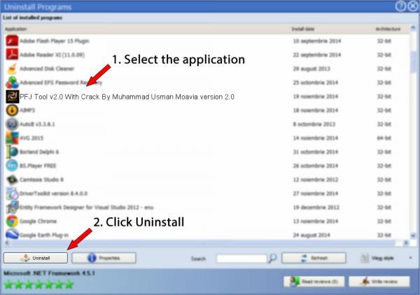 Uninstall PFJ Tool v2.0 With Crack By Muhammad Usman Moavia version 2.0