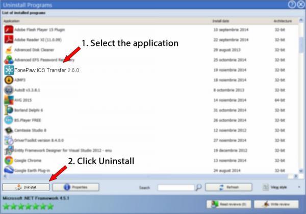 Uninstall FonePaw iOS Transfer 2.6.0