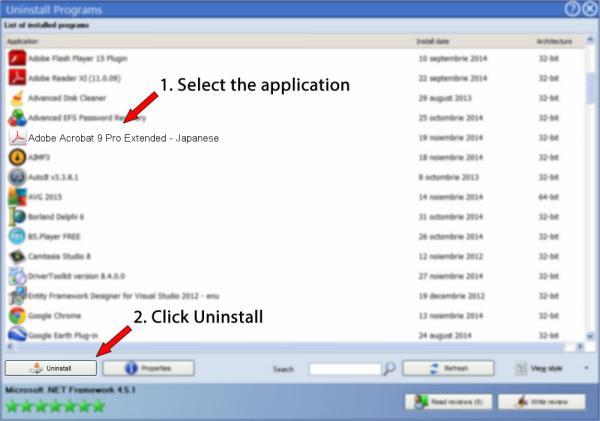 Uninstall Adobe Acrobat 9 Pro Extended - Japanese