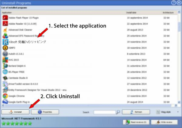 Uninstall Xilisoft 究極DVDリッピング