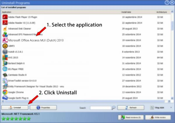 Uninstall Microsoft Office Access MUI (Dutch) 2010
