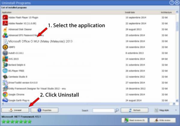 Uninstall Microsoft Office O MUI (Malay (Malaysia)) 2013