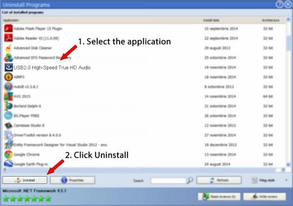 Uninstall USB2.0 High-Speed True HD Audio