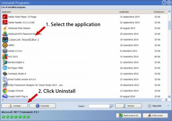 Uninstall CyberLink WaveEditor 2