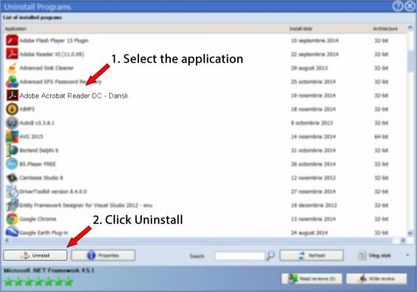 Uninstall Adobe Acrobat Reader DC - Dansk