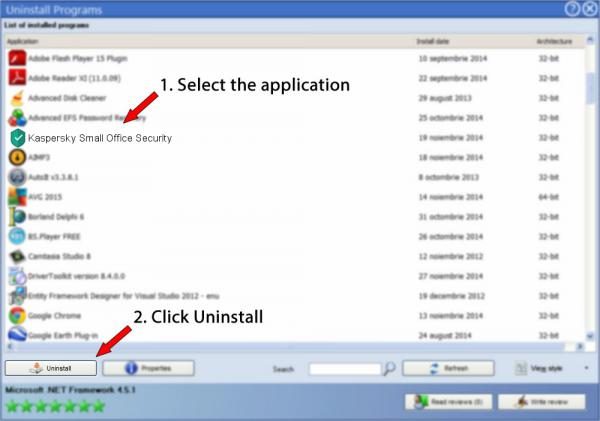 Uninstall Kaspersky Small Office Security