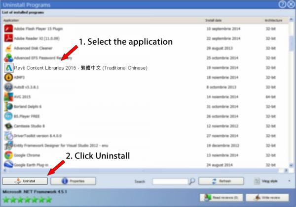 Uninstall Revit Content Libraries 2015 - 繁體中文 (Traditional Chinese)